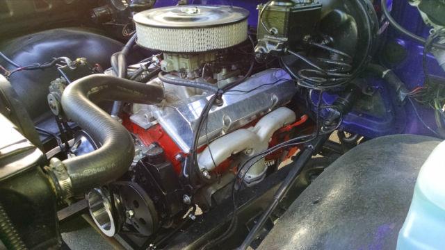 1977 Chevy K10 stepside 350 V8 sm465 trans np205 transfer ...