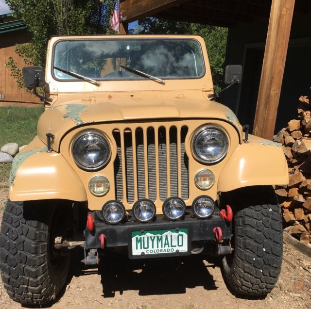 Chevy 350 Engine With Transmission For Sale: 1977 CJ5 Jeep, 350 Chevy