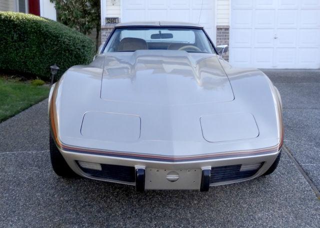 1977 Corvette For Sale >> 1977 Corvette T-Tops, Original Owner, Custom Paint, 350 V8 ...