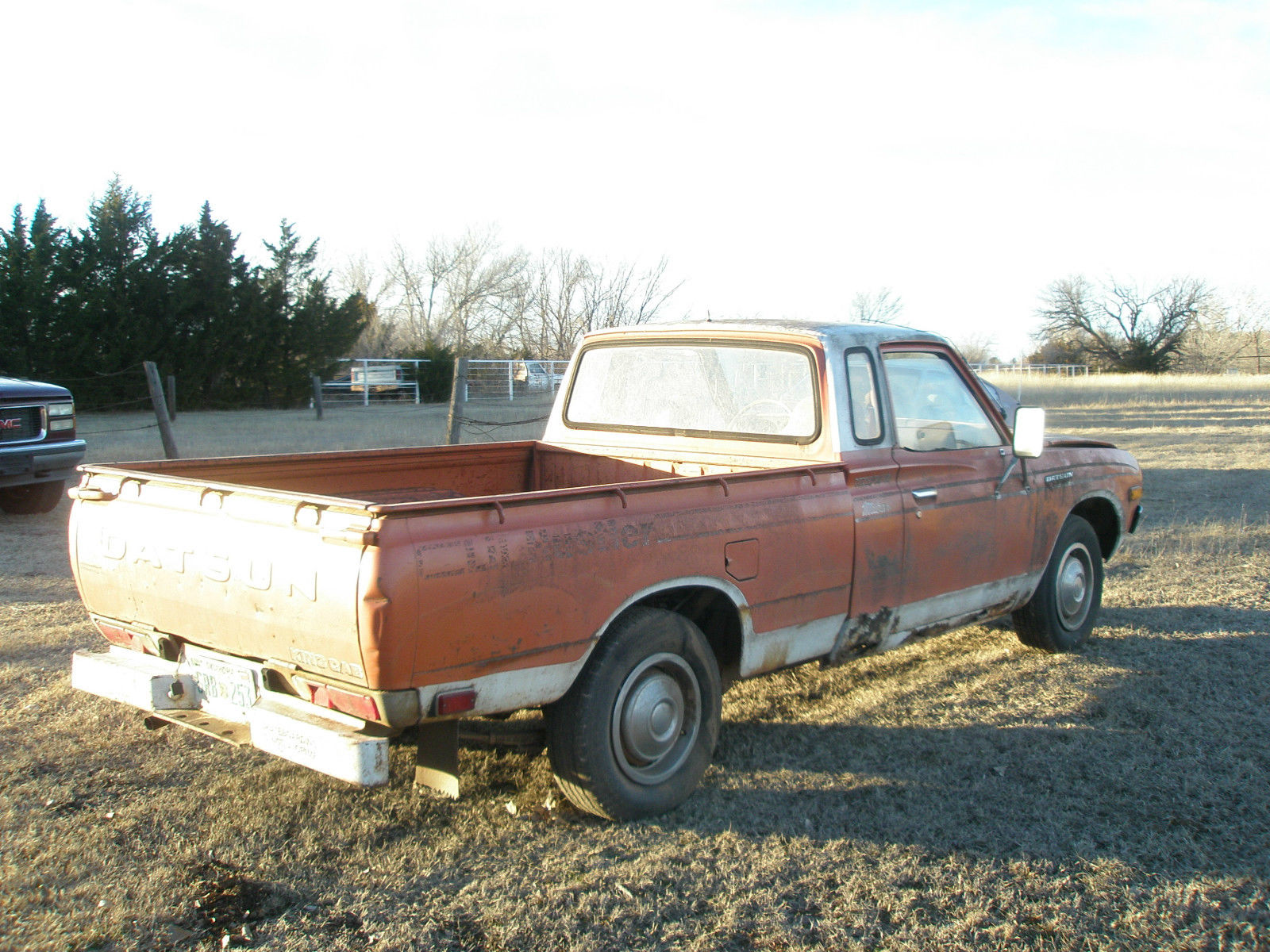 1977 Datsun 620 King Cab Pick Up L20B 4 cylinder Engine ...