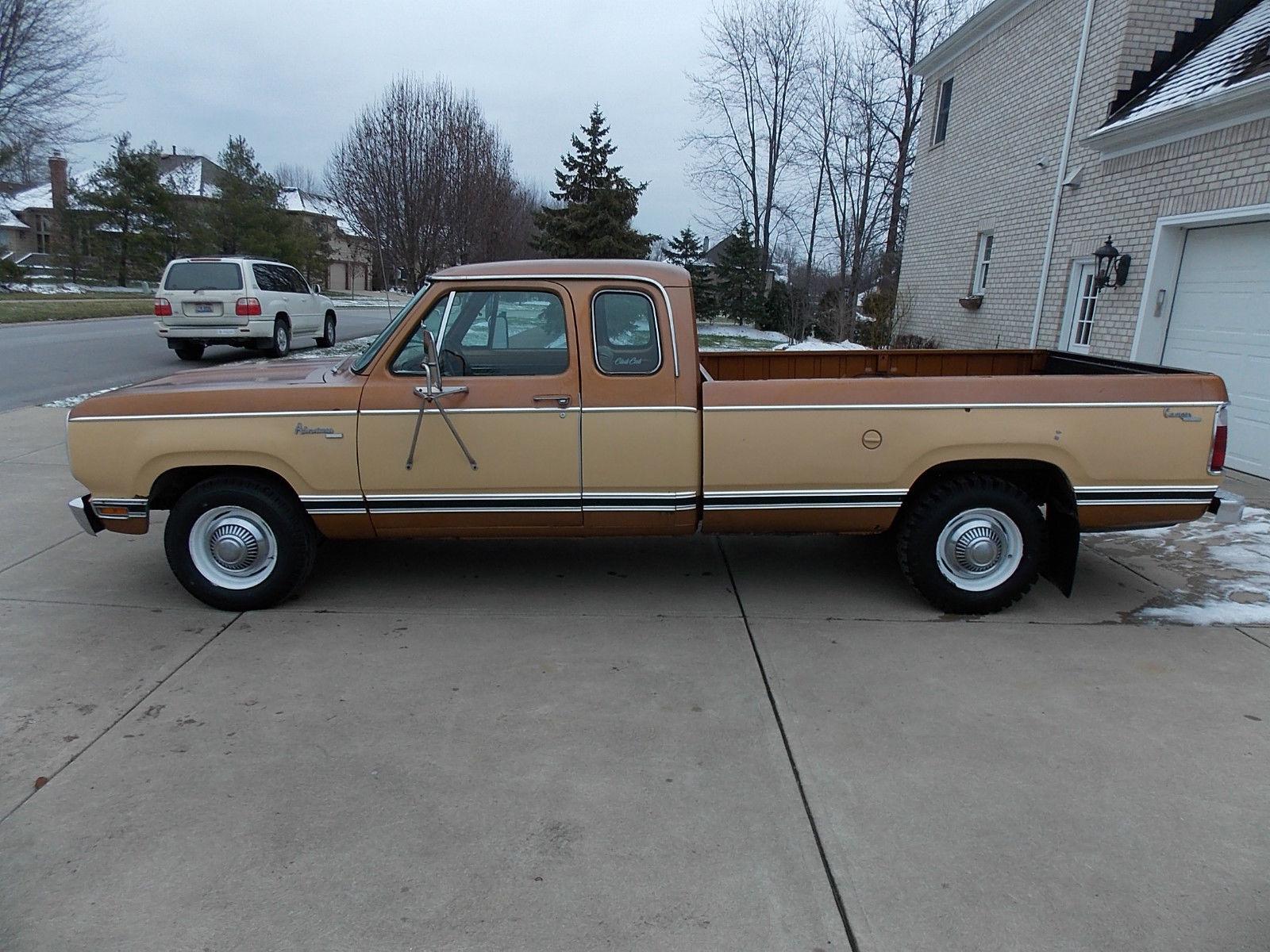 1977 dodge d200 adventurer club cab pick up truck. Black Bedroom Furniture Sets. Home Design Ideas