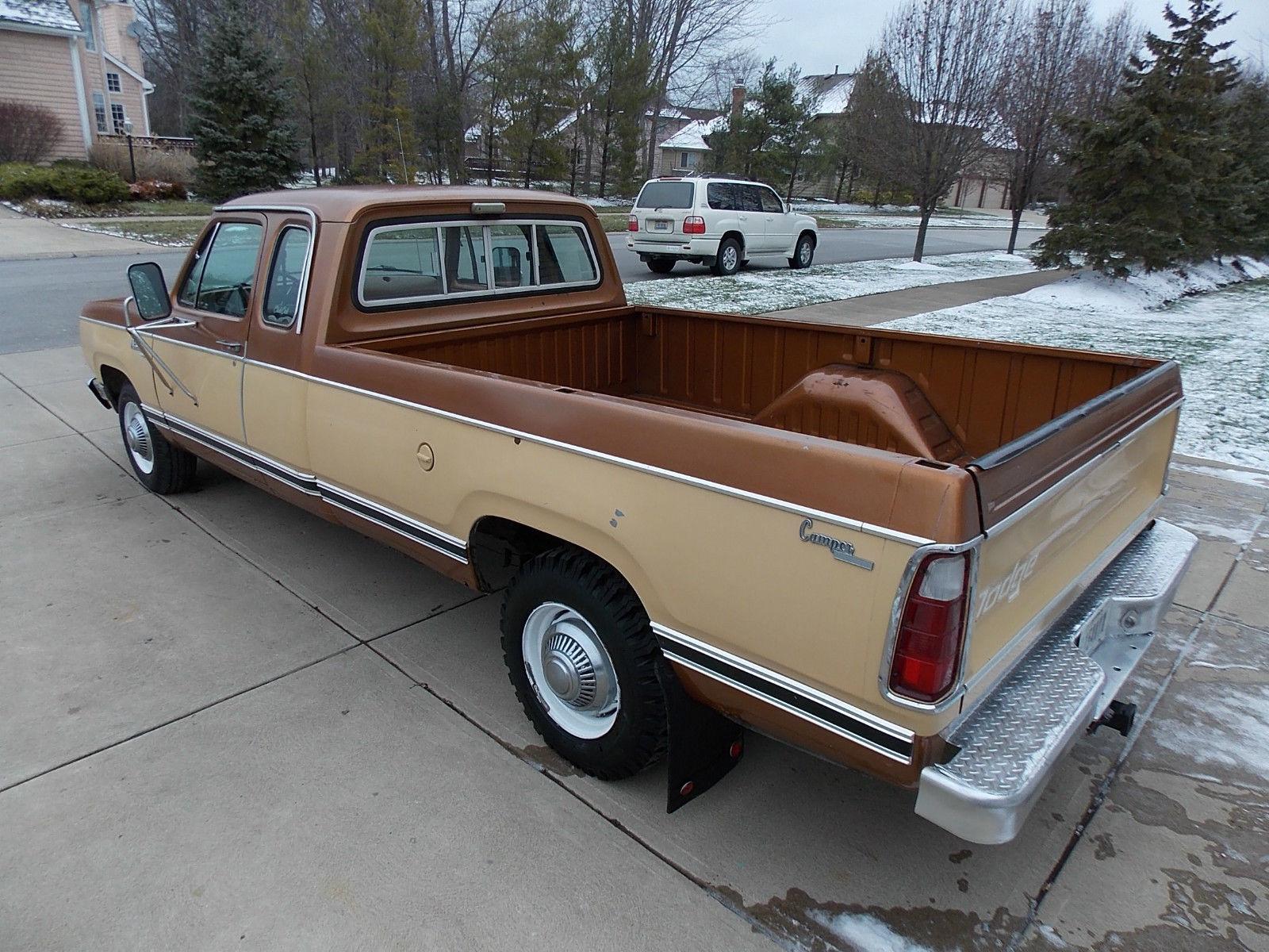 1977 dodge d200 adventurer club cab pick up truck classic dodge other pickups 1977 for sale. Black Bedroom Furniture Sets. Home Design Ideas