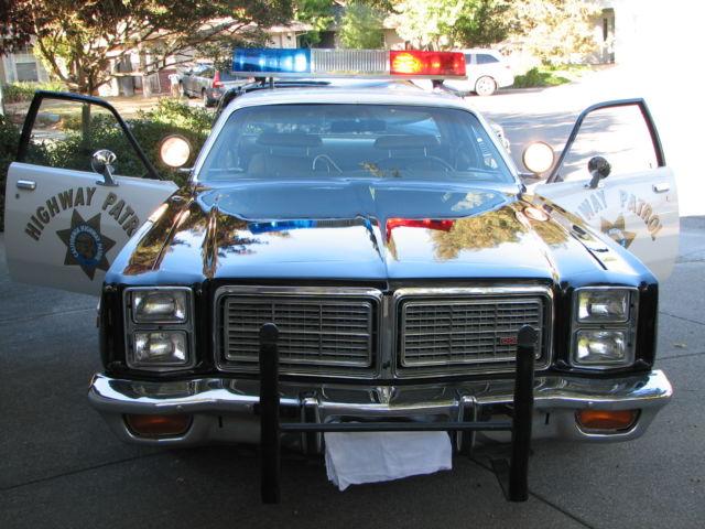 1977 dodge monaco california highway patrol chp 440 hp