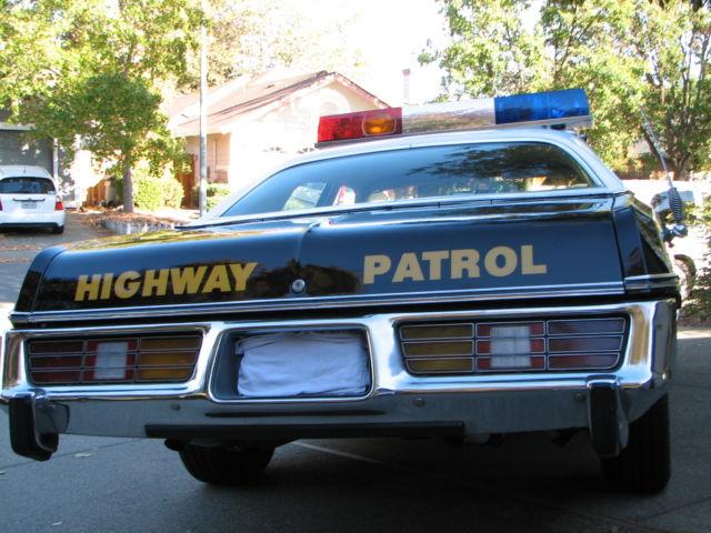 1977 dodge monaco california highway patrol chp police