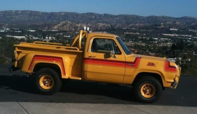 1977 Dodge Power Wagon Vic Hickey Prototype - Classic Dodge Other Pickups 1977 for sale
