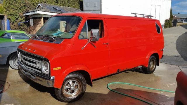 1977 Dodge Street VAN D100 NO RESERVE LOADED Real Deal Rare