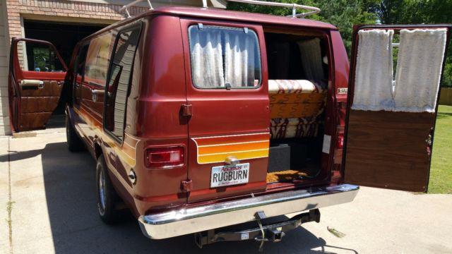 1977 Dodge Tradesman B200 Maxi Van - Classic Dodge B200 1977 for sale