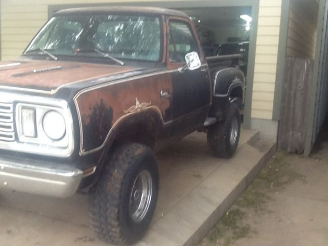 1977 Dodge Warlock. 440 auto 4 wheel drive. Yes a real one ...