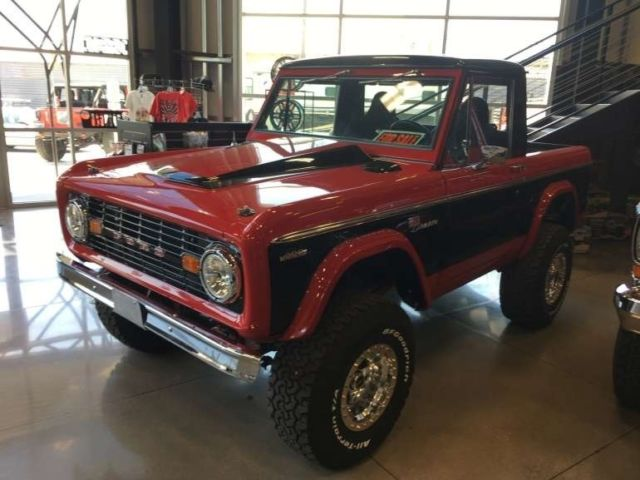 1977 Ford Bronco 347 V8 Gasoline 3 Speed Auto 4wd Replaced