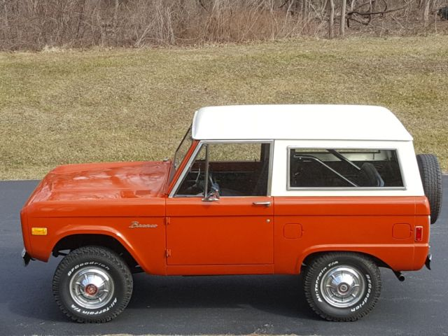 1977 ford bronco uncut 347 stroker motor stock look 4x4 for Bronco motors used cars