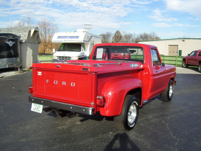 1977 Ford F 100 Stepside Pickup Classic Ford F 100 1977