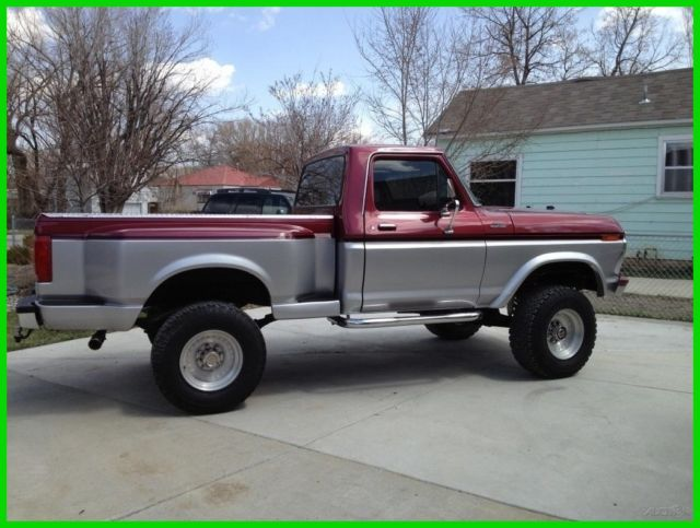 1977 ford f 150 250 manual 4wd pickup truck new 429ci v8 for Ford truck motors for sale