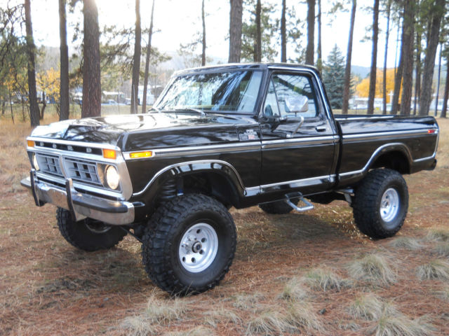 Chevy Trucks For Sale Near Me >> 1977 Ford F-150 XLT Ranger Shortbox 4X4 (No Reserve) F-100 ...