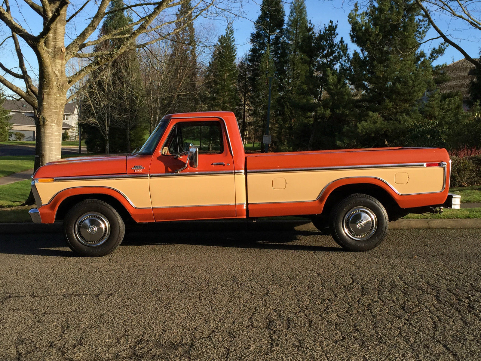 1977 ford f 250 pickup reg cab 2dr long bed only 32k actual miles all original classic ford f. Black Bedroom Furniture Sets. Home Design Ideas