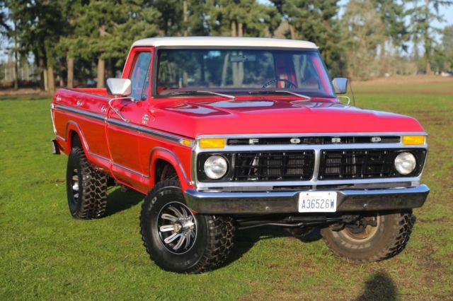 1977 Ford F150 4x4 Ranger XLT Highboy In Excellent