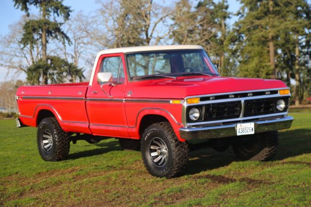 1977 Ford F150 4x4 Ranger XLT Highboy In Excellent