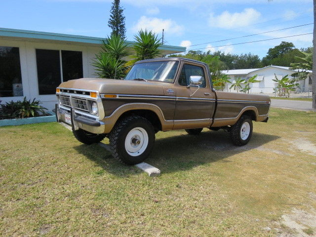 Ford F Highboy X Classic Hot Rod Pickup Truck Brown And Tan Auto