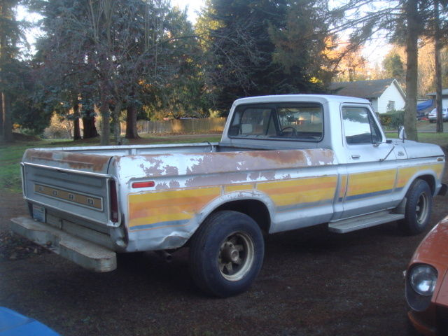 1977 Ford F250 Free Wheeling Package 460 Big Block Pickup
