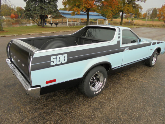 1977 Ford Ranchero 500 Brougham 351M 400 Engine Muscle Car Like an