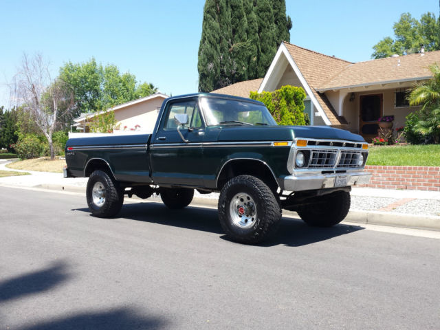 1977 ford ranger xlt f250 4x4 highboy beast 351 v8 4