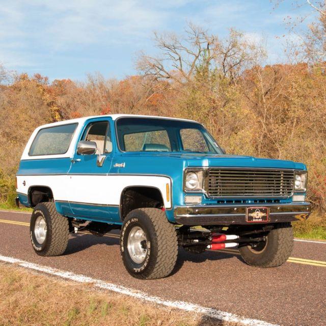 1993 Chevrolet S10 Blazer Interior: 1977 GMC K5 Jimmy, New Paint, 350, Auto, Lift Kit, Wheels