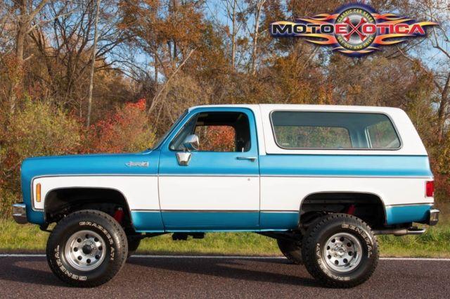 1977 Gmc K5 Jimmy New Paint 350 Auto Lift Kit Wheels