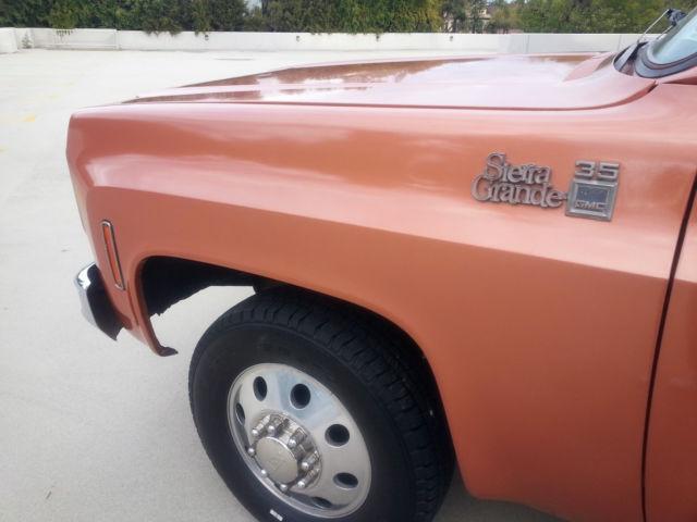 1977 Gmc Sierra Grande 1 Ton In California