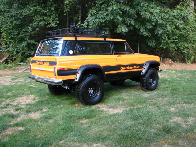 Jeep Wagoneer For Sale >> 1977 Jeep Cherokee Chief Sport Wide Track 4x4 Restored ...