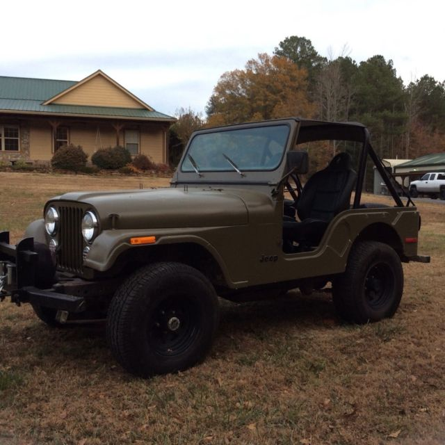 1977 Jeep CJ5 258 6 cylinder NEW TIRES winch light bar ...