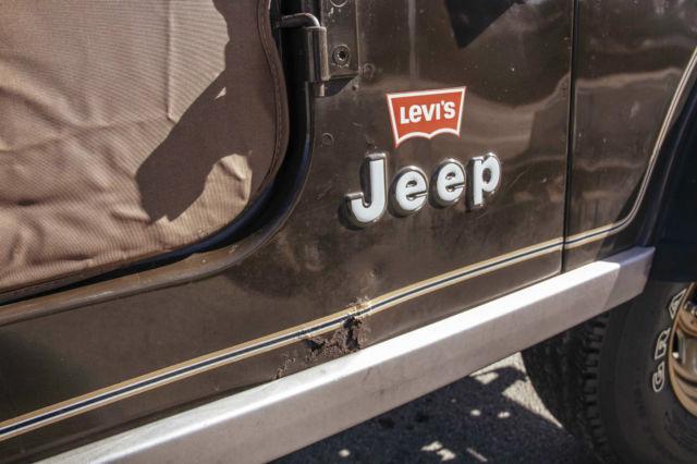 1977 Jeep Cj5 Golden Eagle Sport Utility 2 Door 5 0l Levi