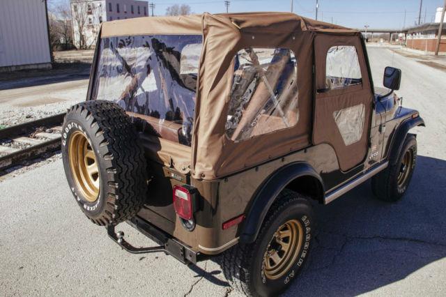 1977 Jeep CJ5 Golden Eagle Sport Utility 2-Door 5.0L Levi ...