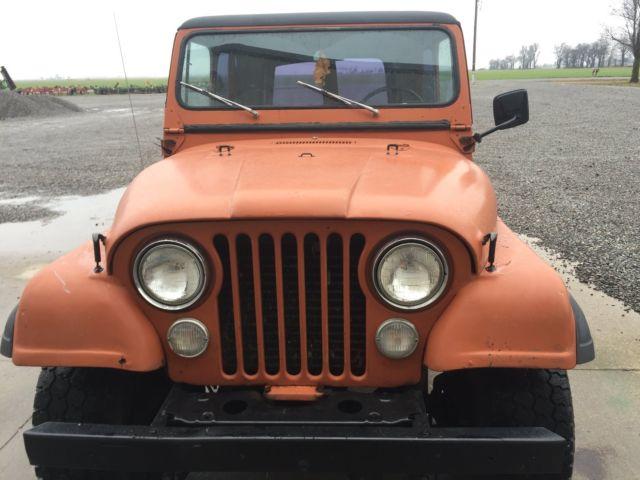 1977 Jeep Cj7 Quadra Trac - Classic Jeep CJ 1977 for sale