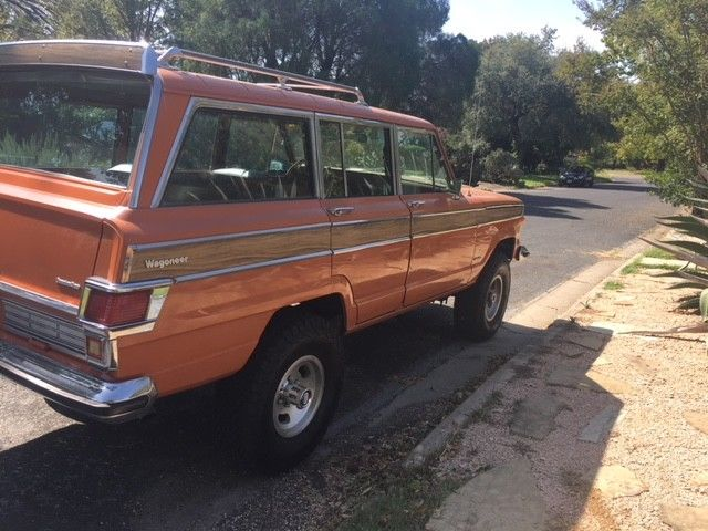 1977 jeep custom wagoneer 401 efi classic jeep wagoneer 1977 for sale. Black Bedroom Furniture Sets. Home Design Ideas
