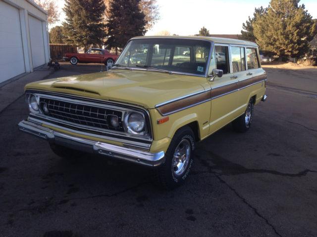 1977 jeep wagoneer 401 v 8 20k original mile survivor classic jeep wagoneer 1977 for sale. Black Bedroom Furniture Sets. Home Design Ideas