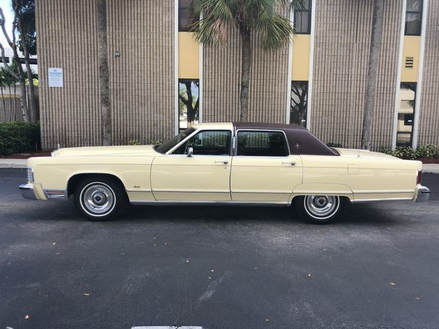 Used Cars West Palm Beach >> 1977 Lincoln Continental Town Car ** 29K Miles ** Mint ...