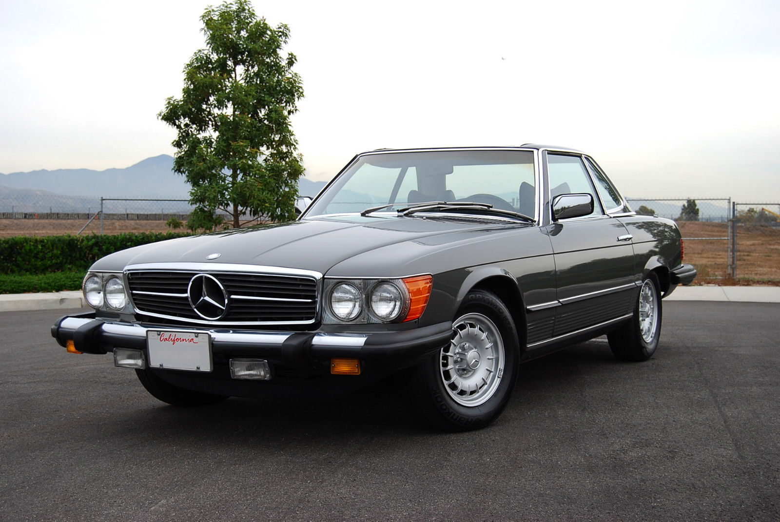 1977 Mercedes Benz 450 Sl W 107 W107 Sl Roadster