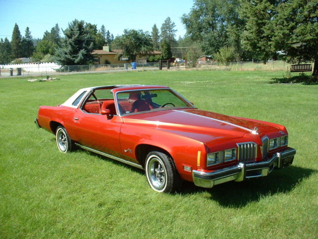 1977 Pontiac Grand Prix Lj T Tops 400 V8 Rally Wheels