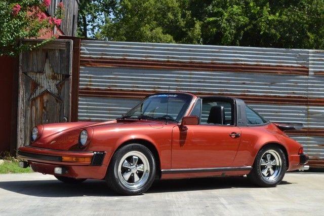 1977 Porsche 911 S Targa Rare Color Engine Rebuild Whale