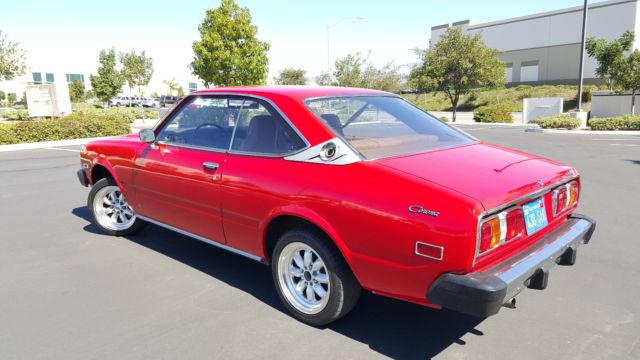1977 Toyota Corona 2 Door Hardtop Sr-5
