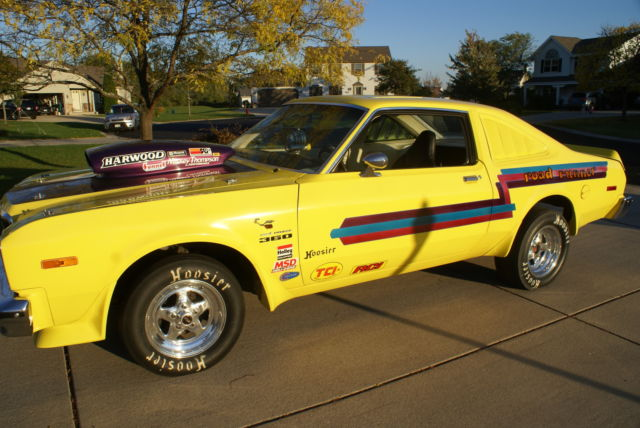 1977 volare road runner used as drag car - Classic Plymouth