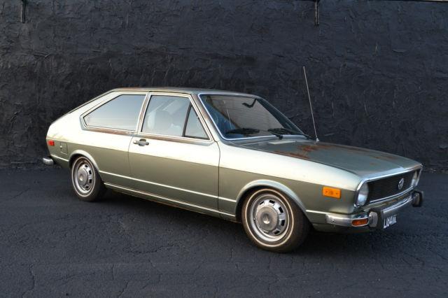 Knoxville Used Cars >> 1977 Volkswagen Dasher Hatchback 2-Door survivor 1.6L MK1 VW - Classic Volkswagen Other 1977 for ...