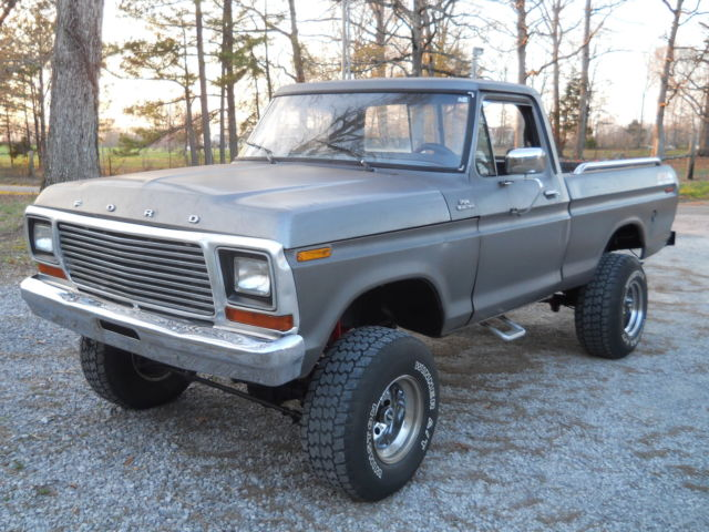 1978 79 Ford F150 4x4 Lifted Solid Southern Truck Runs And