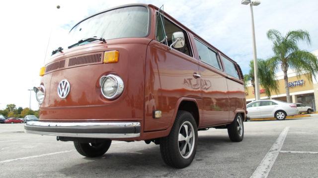 1978 bay window kombi vw bus excellent condition. Black Bedroom Furniture Sets. Home Design Ideas