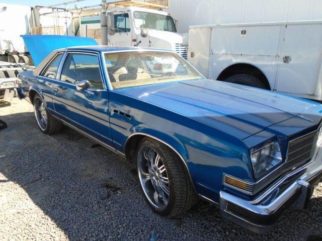 1978 Buick Lesabre Custom Coupe 2 Door 5 7l Classic Buick Lesabre 1978 For Sale