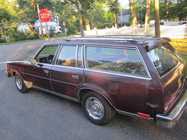 1978 Buick Station Wagon Gm Rally Rims Low Milege Roof Rack Gasser Hot Rod Classic Buick Regal