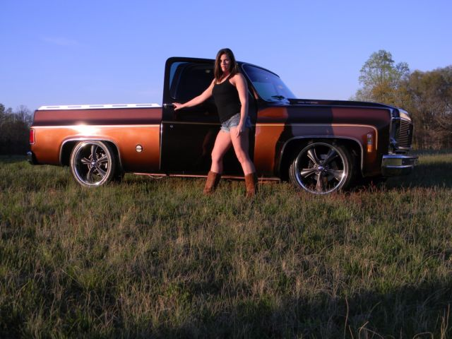 1978 c10 short bed v8 auto ps pb cruise cold ac square body no rust classic chevrolet