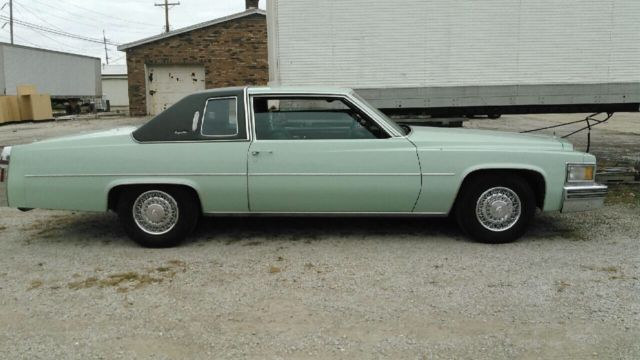 1978 Cadillac Coupe Deville Car Only 76k Miles Sharp Sea