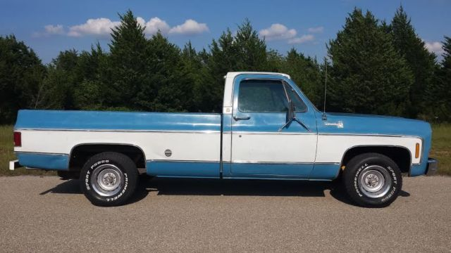1978 Chevrolet C10 LWB factory 454 big block V8 Texas ...