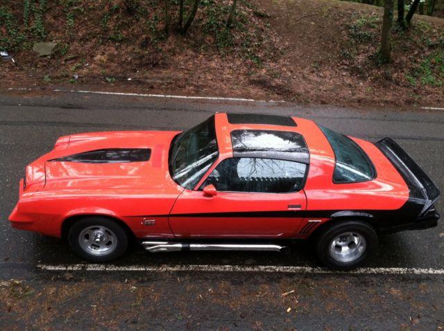 1978 Chevrolet Camaro Z28 T Top Manual Built Custom