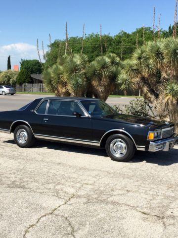 Car That Runs On Air >> 1978 Chevrolet Caprice Classic Landau Coupe 2-Door 5.0L ...